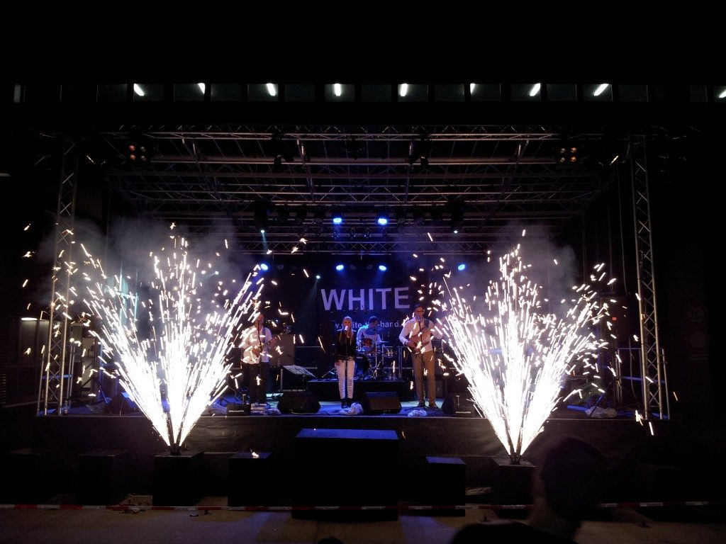 Bühnenpyrotechnik - Feuerwerk Allgäu
