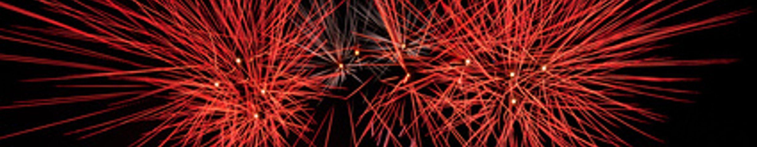 Feuerwerk Allgäu
