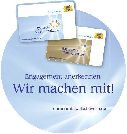 Ehrenamtskarte - Wir machen mit!